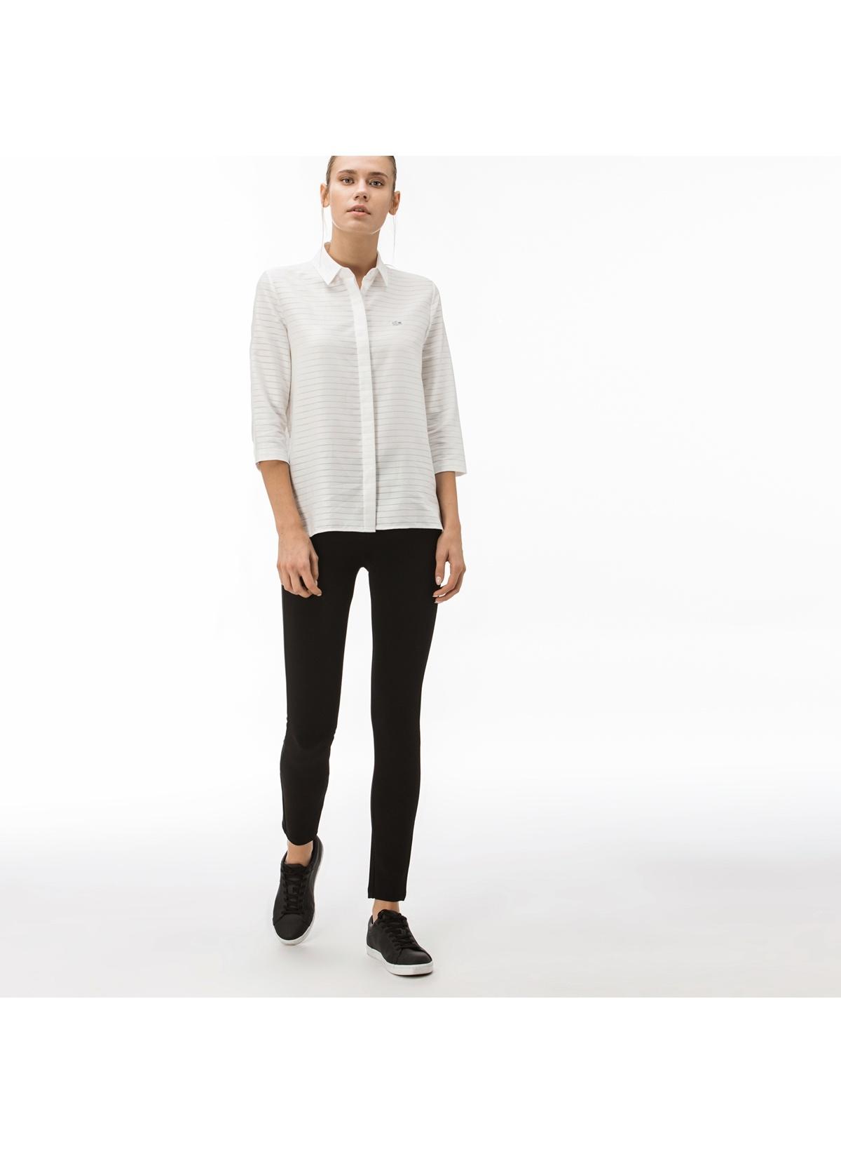 Lacoste Kadın Pantolon Siyah/58S 38 Beden
